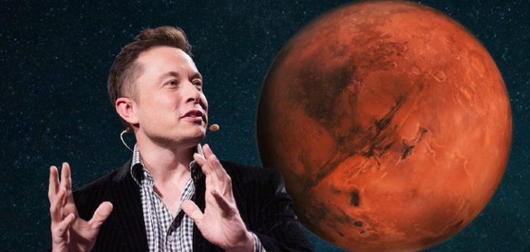 Ілон Маск пропонує побудувати на Марсі ціле місто