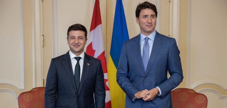 """Зеленський закликав Канаду """"проявити лідерство"""" і сприяти отриманню Україною ПДЧ в НАТО"""