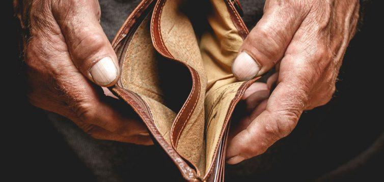 Майже 80% пенсіонерів живуть за межею бідності