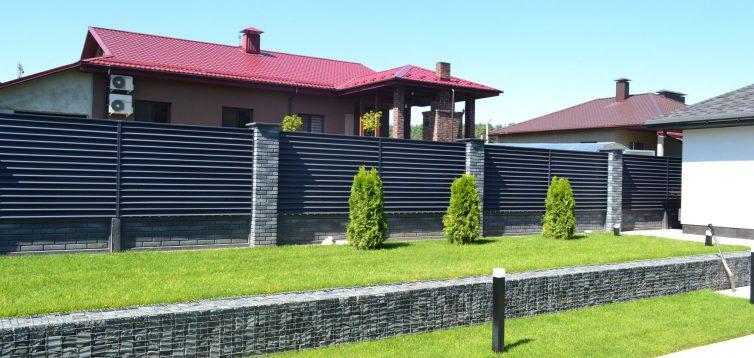 Как выбрать забор жалюзи