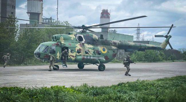 В Одесской области прошли учения по противодействию терроризму