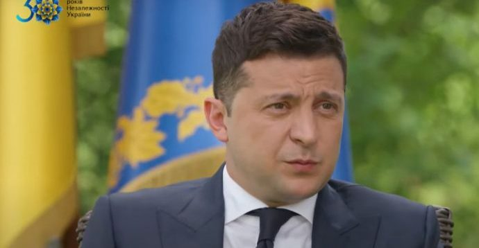 Зеленський заявив, що у нього немає конкурентів у боротьбі за другий президентський термін