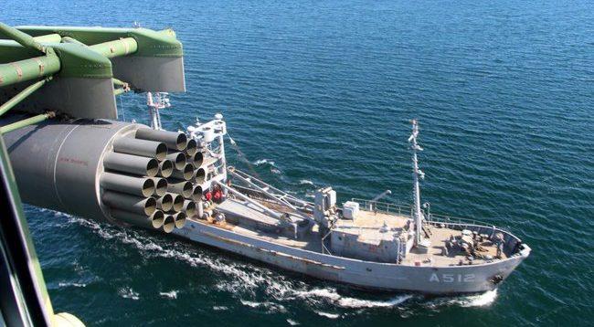 ВМС України відпрацювали маневри за стандартами НАТО в Чорному морі