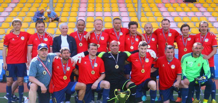 (Рус) Відомий переможець чемпіонату України з футболу серед ветеранів 45+
