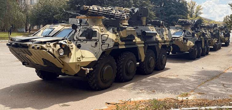 Збройні сили успішно випробували новий БТР-4Е
