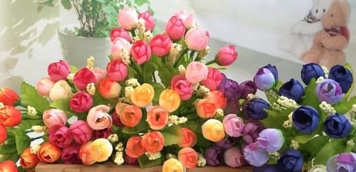 Чим представлені штучні квіти і як вибрати для себе ідеальні