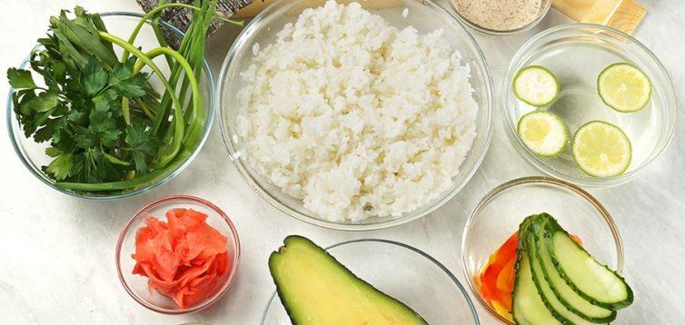 (Рус) Как выбрать все для приготовления суши и роллов