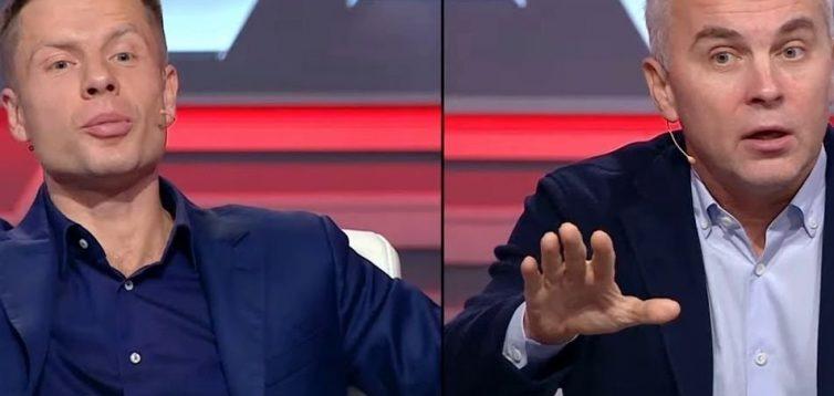 Нардепи Гончаренко і Шуфрич поскандалили в прямому ефірі через Порошенка і Путіна