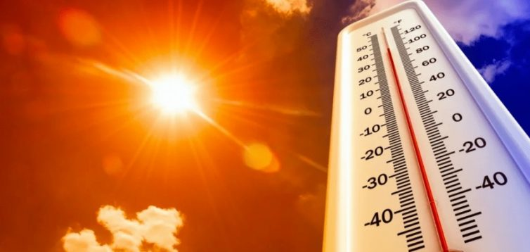 Спека поступово почне залишати територію України