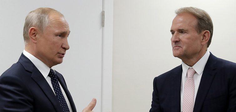 Активісти знайшли монографію Медведчука, в якій він критикує російську владу