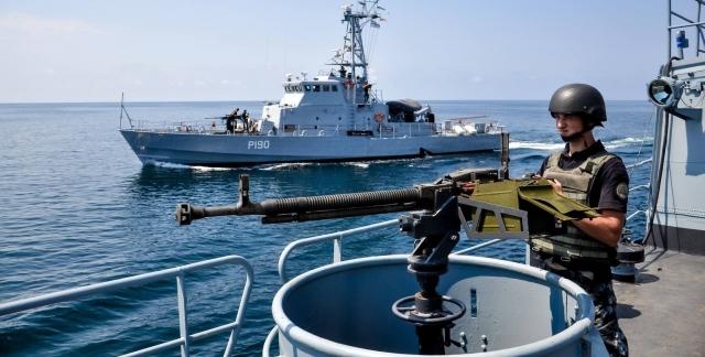 Кораблі ВМС України прибули до Грузії для участі у військових навчаннях Agile Spirit 2021