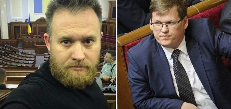 """Нардеп від """"Слуги народу"""" і екс-міністр влаштували бійку в прямому ефірі"""