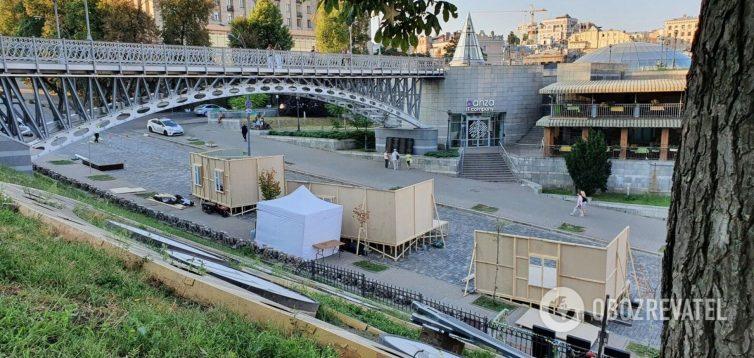 Мінкульт не бачить нічого поганого в радянській інсталяції на Алеї Героїв Небесної Сотні
