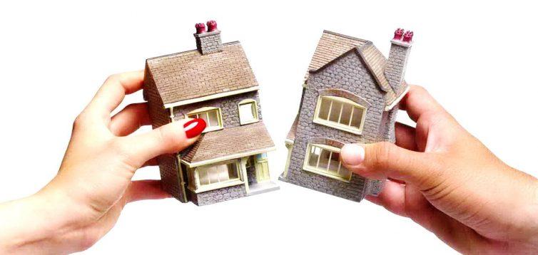 (Рус) Как разделить дом