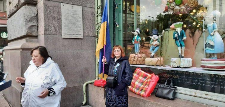 У Росії затримали активістів, які хотіли привітати українців з Днем Незалежності