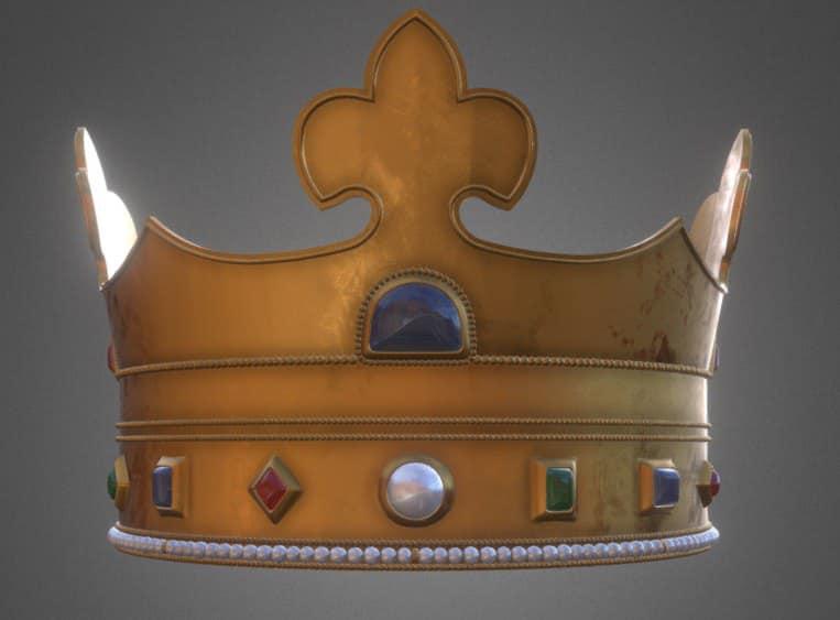 Вчені показали 3D-макет справжньої корони короля Данила Галицького