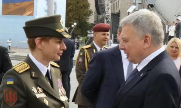 В українській армії з'явилася перша жінка у званні бригадний генерал