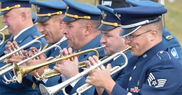 До Києва прибув оркестр ВПС США для участі в урочистостях до Дня Незалежності