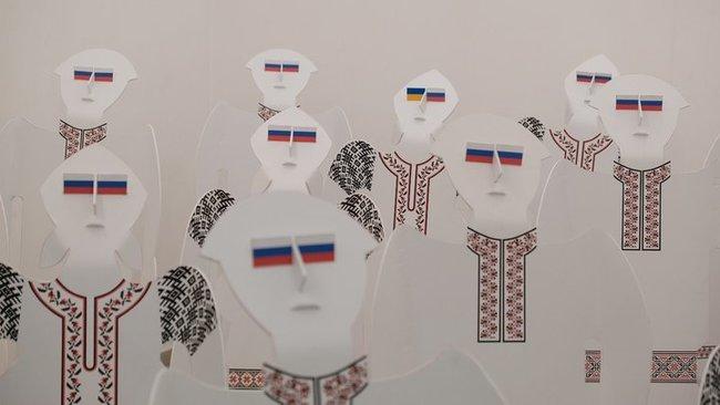 """Художника Салевича викликали до СБУ через його інсталяцію """"хохли"""""""