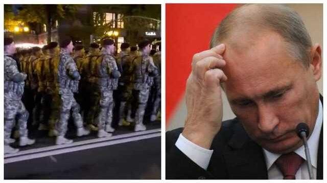На РосТВ случилась истерика из-за скандирования украинскими десантниками песни о Путине