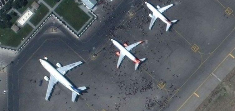 Український літак у Кабулі захопили озброєні люди та вилетіли на ньому у Іран