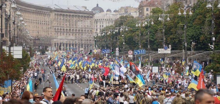 В Рухе ветеранов Украины заявили, что марша защитников ко Дню Независимости в Киеве не будет