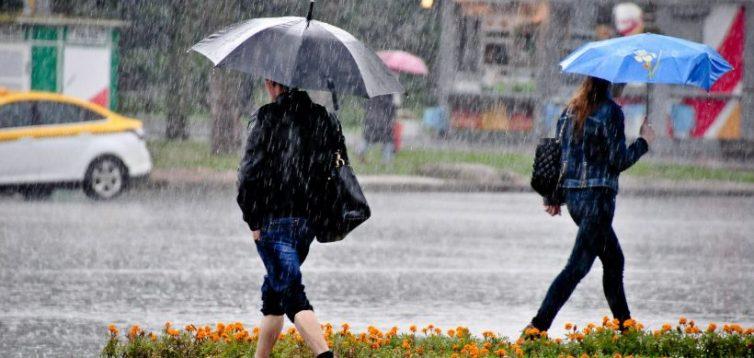 В Україні очікуються дощі та значне похолодання