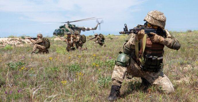 ВСУ начали масштабные учения с привлечением всех родов войск