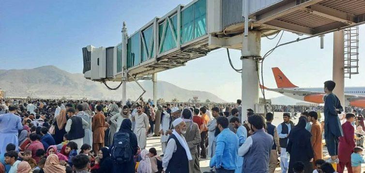 Український літак з евакуйованими не може вилетіти з Афганістану