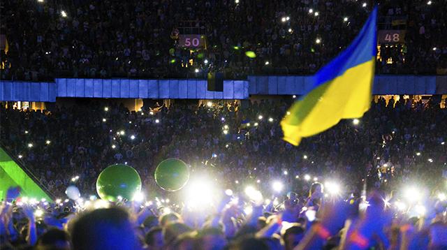 У святкових заходах до Дня Незалежності в Києві взяли участь близько 100 000 чоловік