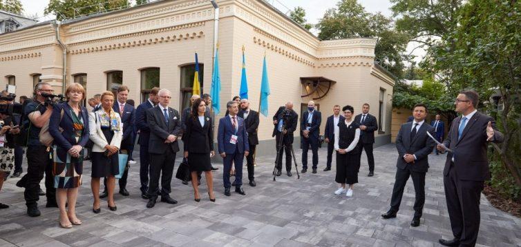 В Киеве открыли офис Крымской платформы