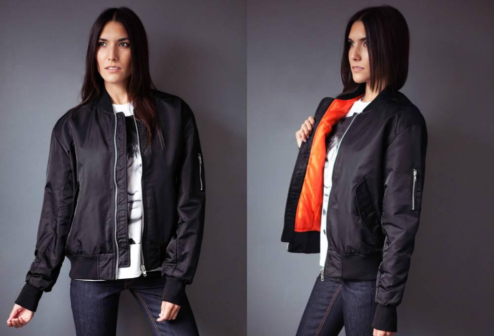 Преимущества женских курток бомберов