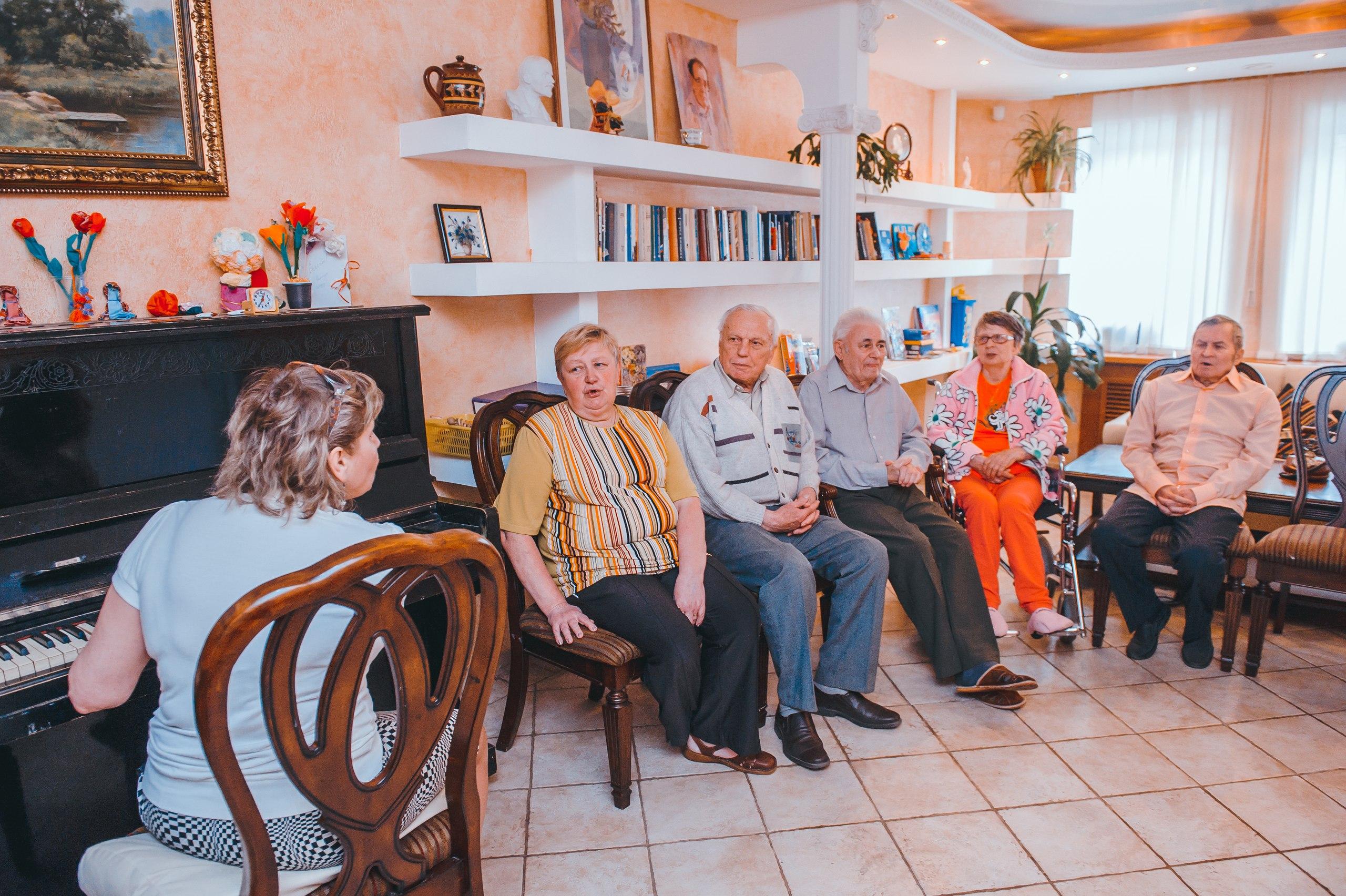 Преимущества частного пансионата для престарелых в Кривом Роге