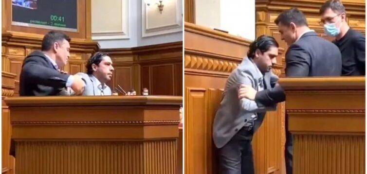 Комітет Ради не став карати Тищенка за напад на Лероса