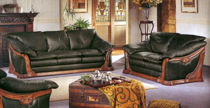 (Рус) Советы по выбору кожаной мягкой мебели