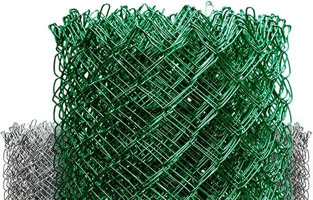 Если забор, то из сетки рабицы
