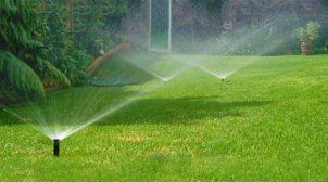 (Рус) Орошение газонов автоматическим поливом