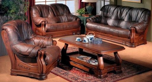 Советы по выбору кожаной мягкой мебели