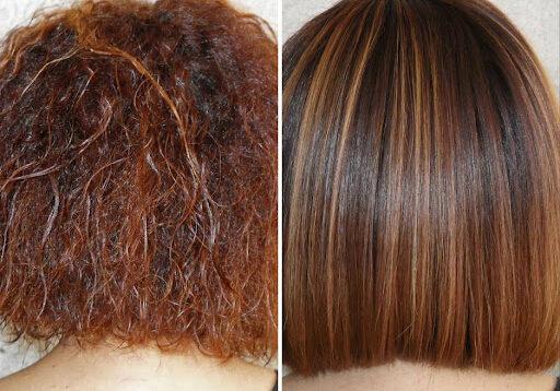 (Рус) Кератиновое выпрямление волос: преимущества процедуры