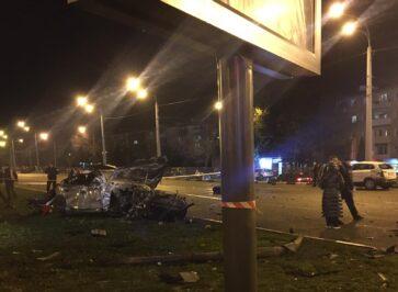 Винуватець смертельної ДТП у Харкові майже не постраждав і вже дає свідчення. ФОТО