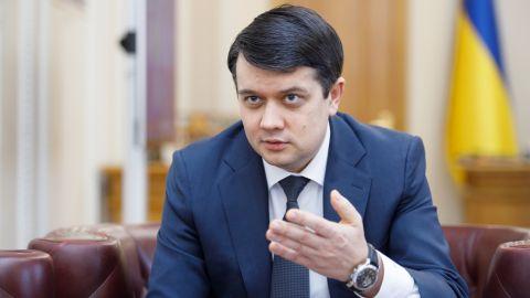 Разумков пояснив, чому перед відставкою збільшив кількість журналістів у Верховній Раді