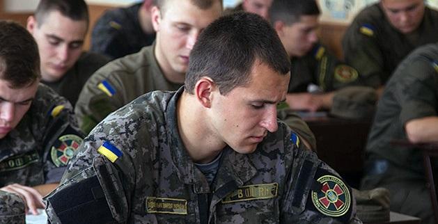 Українські військові почнуть вивчати англійську мову під час проходження служби