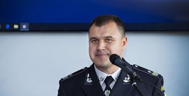 Стала відома зарплата начальника поліції Клименка за вересень