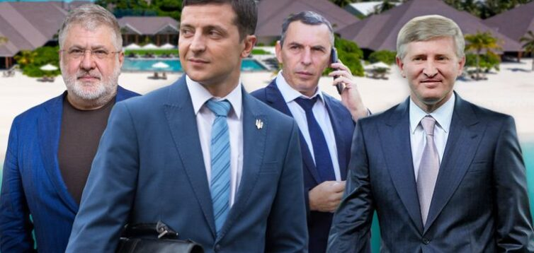 Медіа Ахметова і Коломойського проігнорували новину про офшори Зеленського