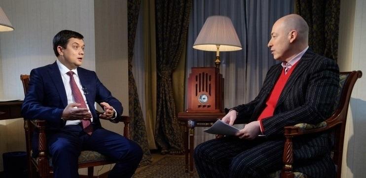 Луценко заявив, що Разумков веде переговори з Гордоном і Комаровським